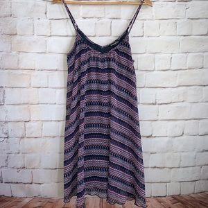 Express Slip Dress, Adjustable Spaghetti Straps, S